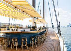 Brooklyn Bridge Park Brooklyn, New York Boat Deck watercraft vehicle ship yacht water