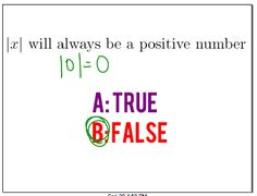 Absolute Value   Continuous Everywhere but Differentiable Nowhere