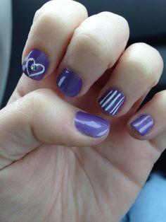 Valentine' Day Nails <3