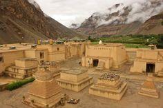 Tabo Monastery, Spiti Valley, Himachal Pradesh, India