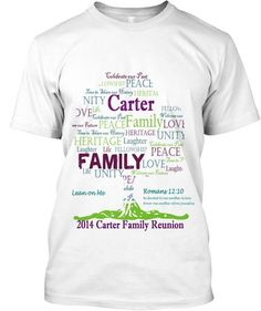 Carter Family Reunion T-Shirts! | Teespring
