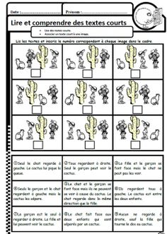 Les enfants, le chat et le cactus - Mewe mayu - Photo French Class, Teaching French, Teaching Tools, Teacher Resources, Education And Literacy, Reading Games, French Resources, French Immersion, Second Grade