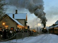 Polar Express in Durango. I so want to do this!