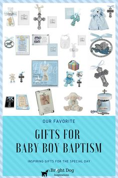 Baby boy baptism gifts ideas.