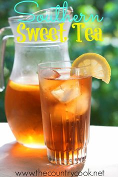Southern Sweet Tea is the house wine of the south. Everyone asks me for my recipe and this is it. The secret is out. Perfect every single time!
