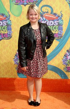 Kids' Choice Awards What the Stars Wore! Lauren Potter, Kids Choice Awards 2014, Down Syndrome Kids, Chris Rock, University Of Southern California, Mark Wahlberg, Lea Michele, Celebs, Celebrities