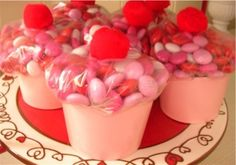 Cupcake Birthday Party Favors by elinor
