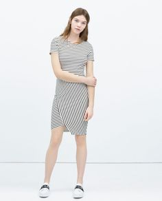 ZARA - WOMAN - STRIPED DRESS