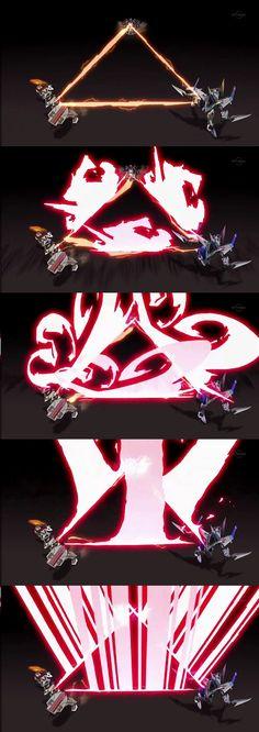 『ダンボール戦機W』のシリーズ後半から新シリーズ『ダンボール戦機ウォーズ』にかけて、3DCGパートで作画を混ぜてダイナミックなシーンを連発してるCGアニメ...