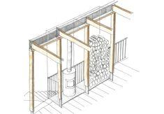 Nicholas Szczepaniak  . Union Wharf . London (20) New Builds, Architecture Details, Construction, London, Building, Interior, School Play, Sketching, Envelope