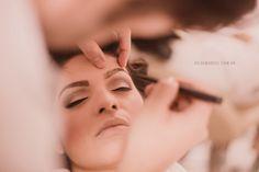 Making of e olhos bem marcados para a noiva Tati