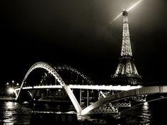 bridge in paris night - Szukaj w Google