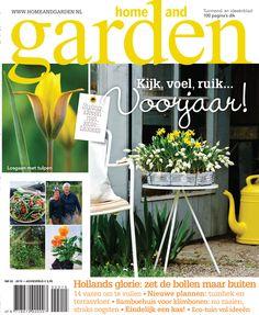 Home and Garden Gardening Magazines, Organic Gardening, March, Home And Garden, Spring, Flowers, Plants, Magazines, Tulips