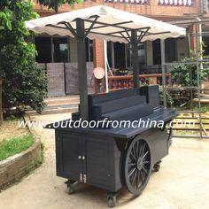De madeira carrinho de comida/carrinho de cachorro quente/empurrar carrinhos sorvetes-Máquinas do petisco-ID do produto:1262662961-portuguese.alibaba.com