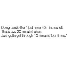 I feel like I do this even if it's just 20min?! Give me a #HIIT session or a jumprope over 40mins flat cardio ANYDAY. #cardio #sweat #fitchick  #Regram via @sweatwithbec