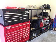 Start of 1 car garage for my Harley - The Garage Journal Board