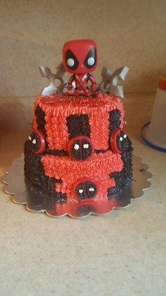 Deadpool Cake