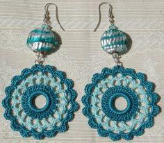 crocet earrings <3