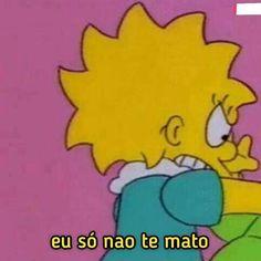 Metadinha Simpsons 01 in 2020 Simpson Wallpaper Iphone, Wallpaper Iphone Cute, Tumblr Wallpaper, Galaxy Wallpaper, Cartoon Memes, Funny Memes, Friendship Wallpaper, Bff, Couple Memes