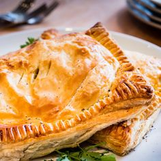 Fillet steak and stilton pasties recipe - Who says pasties can't be posh? This is a perfect Friday night treat to be shared with the one you love, or a good mate, with a glass of red or an ice cold beer. Created by GBBO winner John Whaite