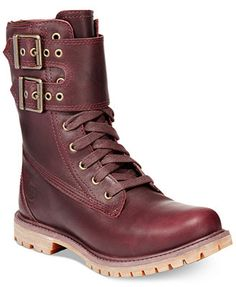 """Timberland Women's Earthkeepers 6\"""" Premium Double Strap Booties Just what I've been searching for!"""