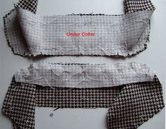 42 Collar construction. | Pin, baste and stitch the collar b… | Flickr