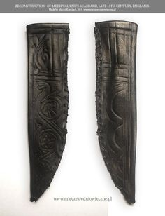 XIII Century knife sheath