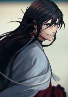 Izumi no Kami Kanesada - Touken Ranbu - Mobile Wallpaper - Zerochan Anime Image Board Touken Ranbu, Manga Boy, Anime Manga, Anime Art, Manga Hair, Fanarts Anime, Anime Characters, Anime Guy Long Hair, Character Inspiration