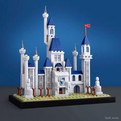 Diese kleinen LEGO Schlösser und Burgen sind ganz Groß! | zusammengebaut Lego Castle, Lego Disney, Lego Burg, Lego Books, Lego Wall, Micro Lego, Lego Architecture, Amazing Architecture, Cool Lego