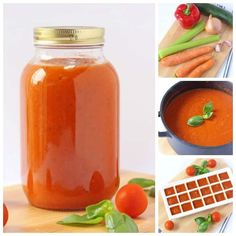 This is a recipe that I have been meaning to share here for ages. It's just a simple tomato sauce but because it's packed full of hidden veggies it makes a really fantastic addition to your children's meals and a great way to sneak in some extra nutrients to your picky or fussy eating kids. Spend 30 minutes cooking up a batch of this sauce every month and I promise you'll never buy another jar again! #hiddenveggies #tomatosaucerecipes #fussyeater #pickyeater Hidden Vegetable Recipes, Hidden Vegetables, Veggie Recipes, Baby Food Recipes, Vegetarian Recipes, Kid Recipes, Easy Meals For Kids, Easy Family Meals, Kids Meals