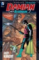 Damian: Son of Batman by Grant Morrison, art by Andy Kubert. Damian Wayne, the son of Batman, has adopted the cape and cowl as his own...but what horrific events set this troubled hero on the path of his dark destiny? Plus, a tale where Damian Wayne is the Batman of Tomorrow in a story set 15 years from now in a nightmarish future Gotham!