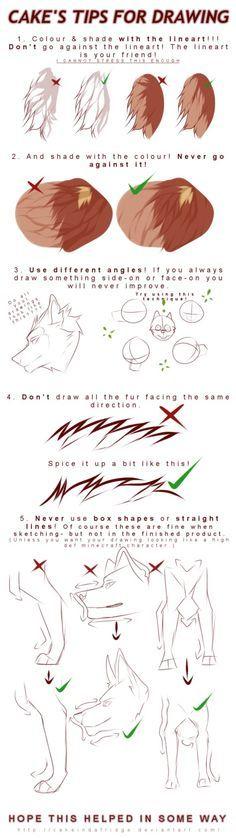 tutorial|Cake's tips for drawing by Cakeindafridge on DeviantArt