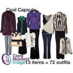 Cool capsule by redstiletto on Polyvore