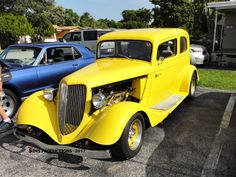 1933 #ford #coupe #replica #kitcar #mellowyellow #sunday #evening #classic #carshow #photographer #tim #shady #sims #tsimsproductions
