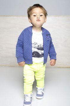 Babykleding Tumble N Dry Boys Jeans | Neon Geel | perfect look | www.kienk.nl