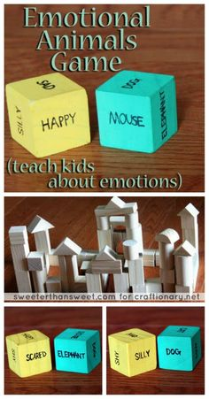 A fun activity to teach kids about emotions #kids_activites #teaching_kids