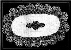 TATTED OVAL DOYLEY. Designed by Norma Benporath. The Australasian (Melbourne, Vic. : 1864 - 1946) Saturday 12 November 1932 p 17