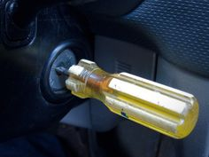 Drive it like you stole it: how to make your keys look like you jammed a screwdriver in the ignition