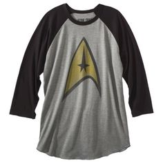 Target - Men's Star Trek baseball tee