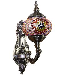 Turkish Mosaic LAMP Vintage Desk Lamp LIGHT Handmade wall LIGHT CHRISTMAS GIFT #Handmade #Moroccan