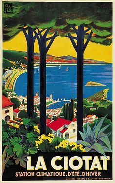 ✨  Illegible (Albert Pigny, Allut Pery ?) - La Ciotat,1932. Burotto & Sauvion, Marseille