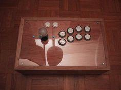 Arcade pad bois plexi