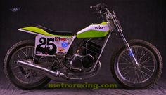 Up for bids is a Champion framed Kawasaki Big Horn flat tracker. this is a great looking well built motorcycle. The motor was built by Woody Kyle. Flat Track Motorcycle, Flat Track Racing, Tracker Motorcycle, Motorcycle Art, Flat Tracker, Street Tracker, Cool Motorcycles, Lifted Trucks, Horns