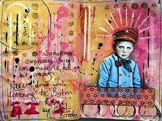 The Kathryn Wheel: A few more journal pages ...