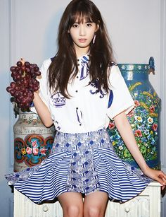SNSD's charming YoonA for 'CeCi' magazine's April issue ~ Wonderful Generation