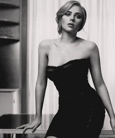 Scarlett Johansson she rocked in avengers!  Haha