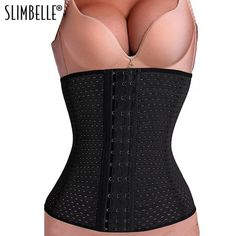 5f3a8ad6b03ce Women Waist Cincher Slimming Belt Waist Trainer Corset For Weight Loss Body  Shaper with Modeling Strap