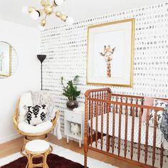 Project Nursery - A Bright and Modern Boho Nursery