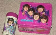 I absolutely loved my Donny Osmond lunch box.