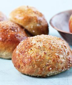 Æbleboller Sweets Recipes, Baking Recipes, Bread Recipes, Fodmap, Danish Food, Food Crush, Bread Bun, Bread And Pastries, Happy Foods